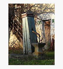 Water Well, Graz, Austria Photographic Print