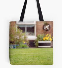 Perfect Lawn with Daisy, Chester Tote Bag