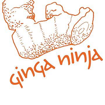 Fire Up Your Ninja Ginga! by georgianaarcher
