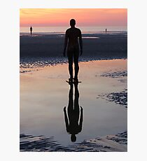Staring at the Sea, Crosby Beach Photographic Print