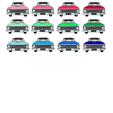 XM ford colour swatch by Ch1ckenMan