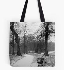First Signs of Snow Tote Bag