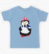 Cute Penguin T-shirt Kids Clothes