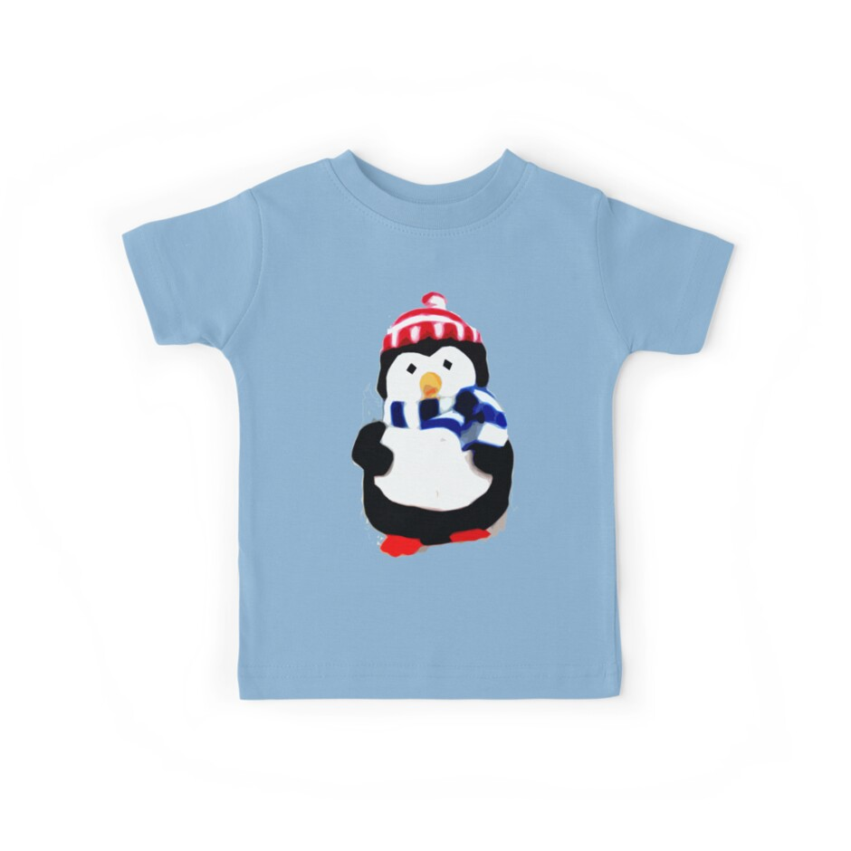 Cute Penguin T-shirt by Zozzy-zebra