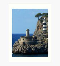 Lighthouse, Puerto de Soller, Mallorca Art Print