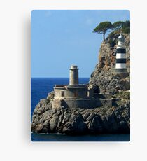 Lighthouse, Puerto de Soller, Mallorca Canvas Print