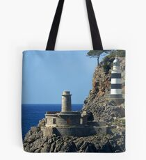 Lighthouse, Puerto de Soller, Mallorca Tote Bag