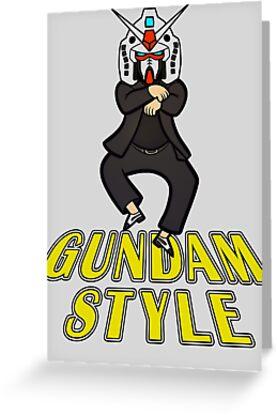 Gundam Style by Ely Prosser