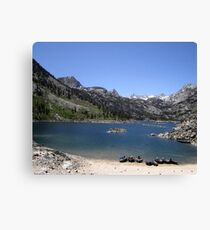 Scenic And Tranquil Canvas Print
