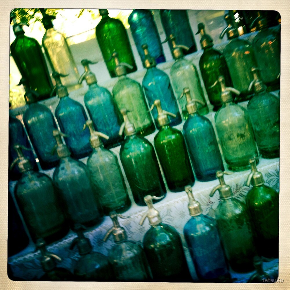 Glass Bottles by tatsuko