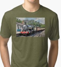 63395 - Q6 Class Locomotive Tri-blend T-Shirt