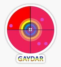 Gaydar Sticker