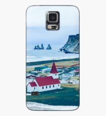 Town of Vík, Iceland  Case/Skin for Samsung Galaxy