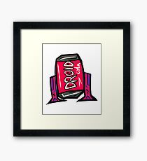 DROID COLA Framed Print