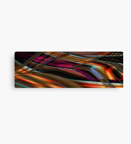 Riding out the wave Canvas Print