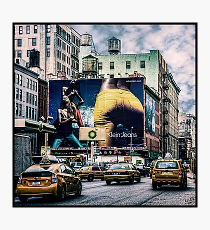 Lafayette and Houston, NYC Photographic Print