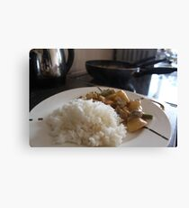 Homemade Thai Masaman Curry  Canvas Print