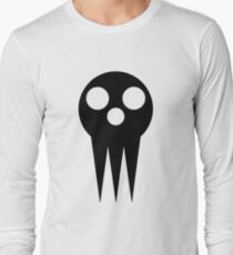 Soul Eater Skull - Black Long Sleeve T-Shirt