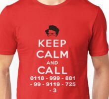 Moss Keep Calm And Call Unisex T-Shirt