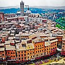 Historic Siena by Lynnette Peizer