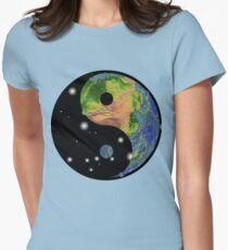 Yin Yang T-Shirt Womens Fitted T-Shirt