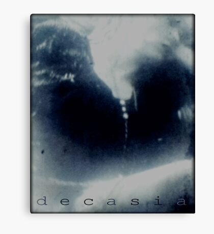 Decasia calender cover Canvas Print