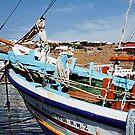 Colourful Fishing  Caique, Mykonos, Greek Islands........! by Roy  Massicks