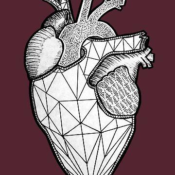 Geometric  Heart by zombalex