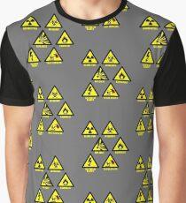 Warning Signs Graphic T-Shirt