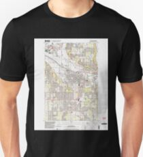 USGS Topo Map Washington State WA Puyallup 243330 1997 24000 T-Shirt