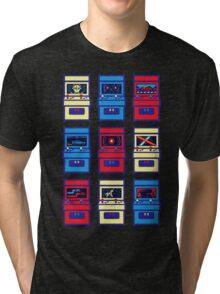 SCI-FI ARCADE Tri-blend T-Shirt