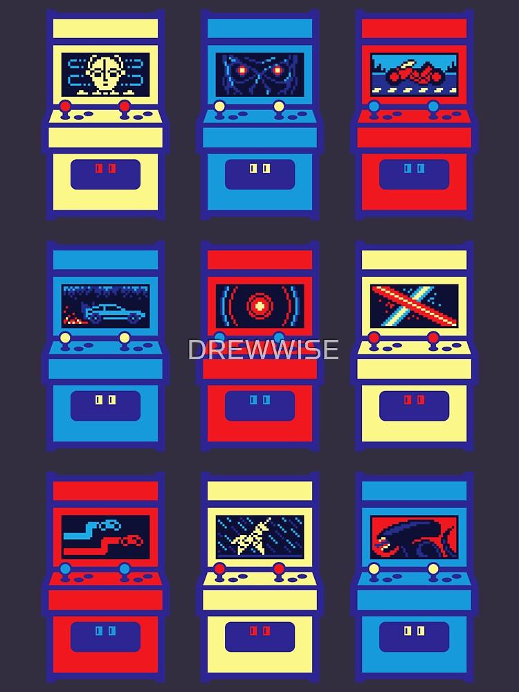 SCI-FI ARCADE by DREWWISE