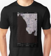 USGS Topo Map Washington State WA Maxwelton 20110422 TM Inverted T-Shirt