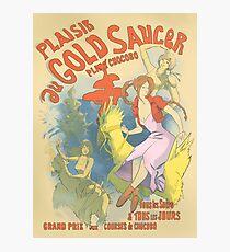 Plaisir au Gold Saucer Photographic Print