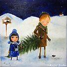 Winter Evening by Monica Blatton