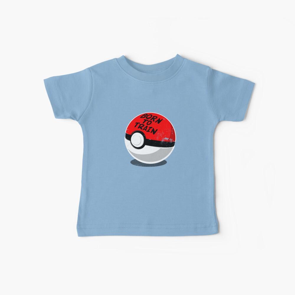 Full Metal Trainer- Pokemon Shirt Baby T-Shirt