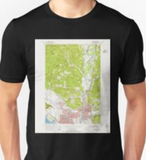 USGS Topo Map Washington State WA Kelso 241751 1953 24000 T-Shirt