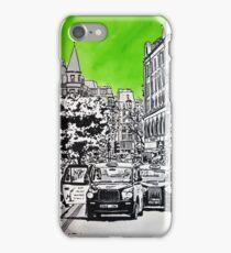 Splash Cities - London 03 - Long Acre iPhone Case/Skin