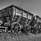 HDR Old Coal Carts by Great North Views