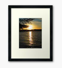 Shimmering Suv of the Sound Framed Print