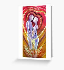 Souls Unite Greeting Card