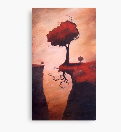 A Totem of Will Canvas Print