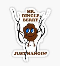 Mr. Dingleberry Sticker