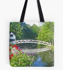 Somesville Foot Bridge Tote Bag