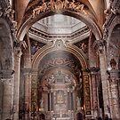 Chiesa dei SS.Vincenzo e Anastasio...church at Fontana di Trevi by Smudgers Art