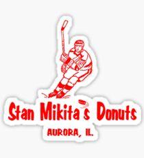 Stan Mikita Donuts Sticker