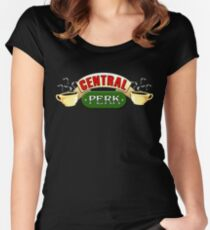 Central Perk Women's Fitted Scoop T-Shirt