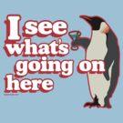 Drunken Penguin Jealousy by kaptainmyke