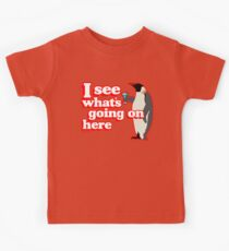 Drunken Penguin Jealousy Kids Tee