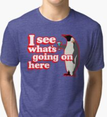 Drunken Penguin Jealousy Tri-blend T-Shirt